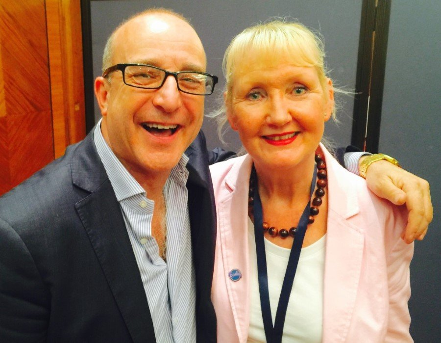 June O'Driscoll of Thoughtitude with Paul McKenna